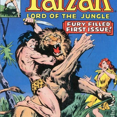 "Marvel Comics Group's ""Tarzan lord Of The Jungle"" 16 issues"