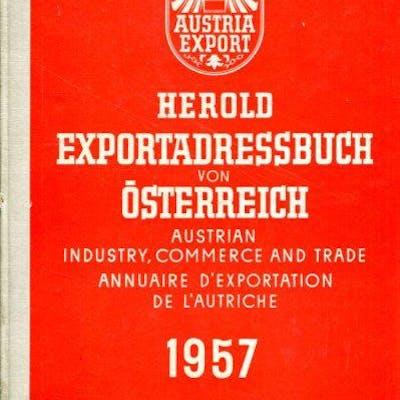Exportadressbuch von Österreich 1957 = Austrian Industry