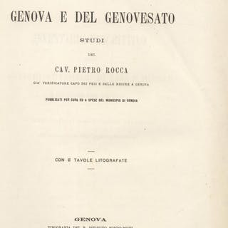 PESI E MISURE ANTICHE DI GENOVA E DEL GENOVESATO