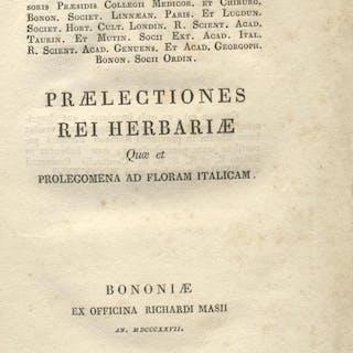 PRAELECTIONES REI HERBARIAE