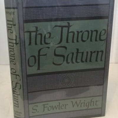 The Throne Of Saturn Wright, S. Fowler (Sydney)