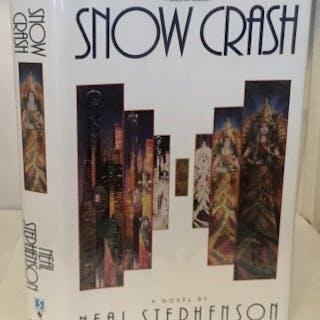 Snow Crash Stephenson, Neal