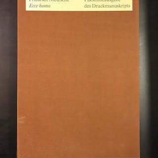 Ecce homo Friedrich Nietzsche Literatur des 20. Jahrhunderts