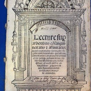 Lecture sup[ra] arboribus consanguineitatis et...