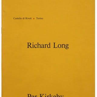 Guovanni Anselmo / Richard Long / Per Kirkeby Giovanni Anselmo