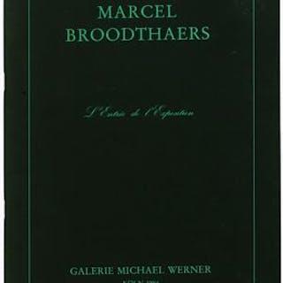 Marcel Broodthaers : L'Entrée de l'Exposition Marcel Broodthaers