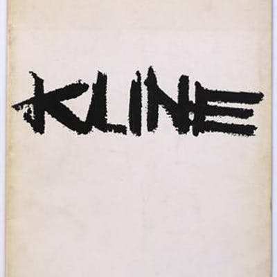 Sidney Janis Presents an Exhibition of New Paintings by Franz Kline Franz Kline