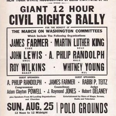 Wanted! 50,000 New Yorkers : Giant 12 Hour Civil Rights...