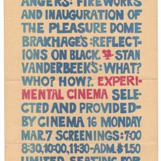 [The Living Theatre Presents Kenneth Anger