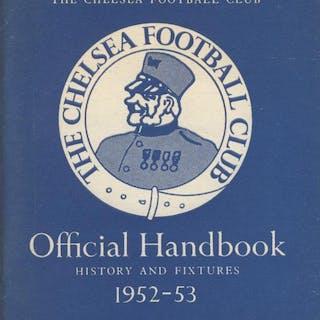 CHELSEA FOOTBALL CLUB OFFICIAL HANDBOOK 1952-53 (CHELSEA FOOTBALL CLUB)