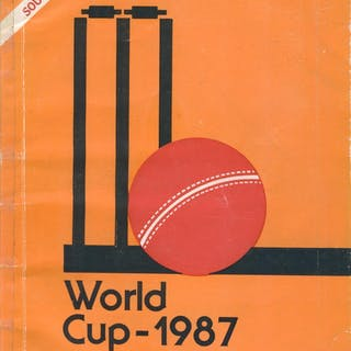 WORLD CUP - 1987 (CRICKET WORLD CUP 1987)