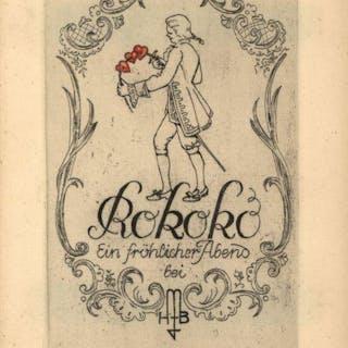 Private Einladung zum Rokoko-Fest 1937