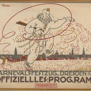 Carnevalsfestzug Dresden 1913