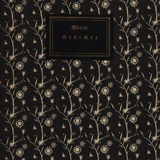 Gedichte. Schrimpf, Georg. Mörike, Eduard. Bibliophilie