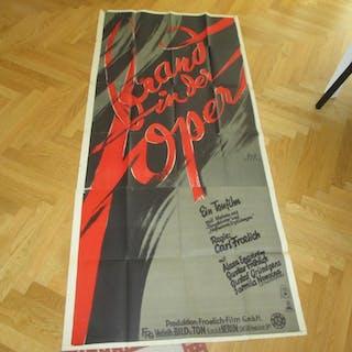 Brand in der Oper. Movie poster - Dassel, Herbert. Varia