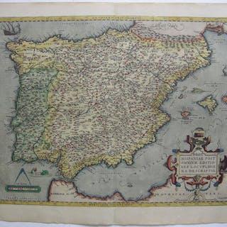 """""""Regni Hispaniae Post omnium Editiones Locuplessima descriptio"""""""