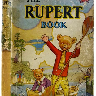 RUPERT ANNUAL 1941 - THE RUPERT BOOK Bestall, Alfred