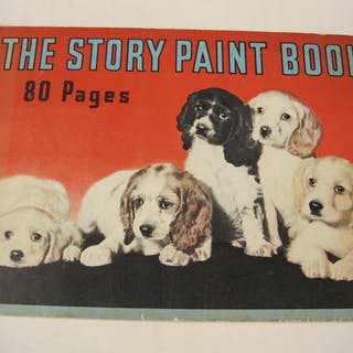 The Story Paint Book, 80 Pages, inside are the following stories . . .