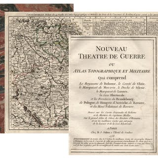 Nouveau Theatre de Guerre ou Atlas Topographique et Militaire qui comprend