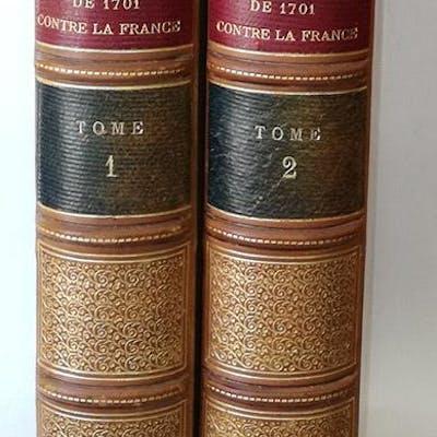 La Coalition de 1701 contre la France Marquis de Courcy .