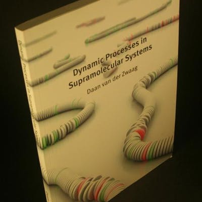 Dynamic processes in supramolecular systems. van der Zwaag, Daan, 1989-