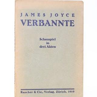 Verbannte. Schauspiel in drei Akten. Joyce, James Literatur