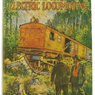 TOM SWIFT And His ELECTRIC LOCOMOTIVE or Two Miles a Minute on the Rails