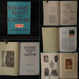Exlibriskunst und Graphik. Jahrbuch 1979.   Zeitschriften und Periodica -