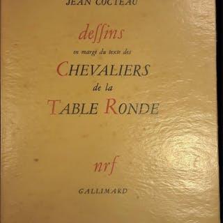 DESSINS EN MARGE DU TEXTE DES CHEVALIERS DE LA TABLE RONDE Jean Cocteau