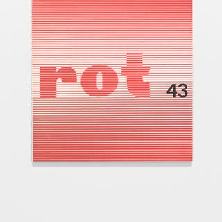 rot 43: semiotik bolzano, bernard 1960s,Concrete poetry,Design,Typography