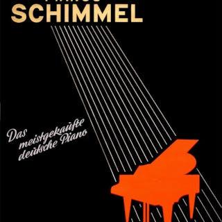 Pianos Schimmel Original Art Deco Style Poster c1935...
