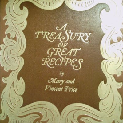 By Mary Price A Treasury of Great Recipes: Famous...