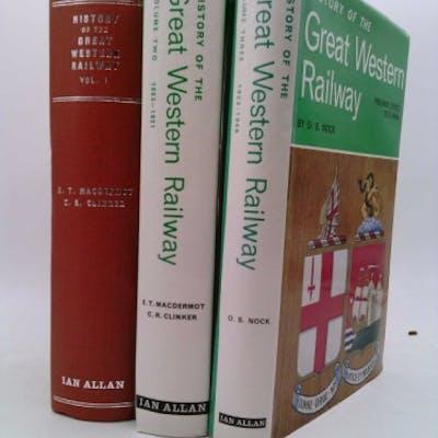 History of the Great Western Railway Volumes 1,2 & 3 MacDERMOT