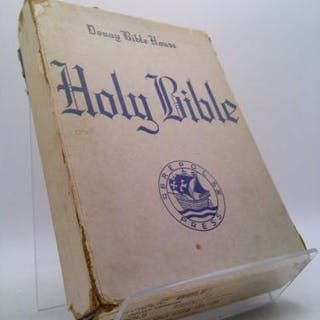 The Holy Bible Douay Version 1938 Translated from the Latin Vulgate