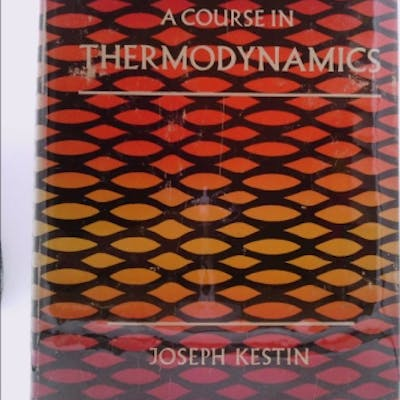 A course in thermodynamics (A Blaisdell book in the pure...