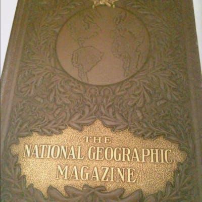 National Geographic Magazine January to June, 1922 Volume Xli