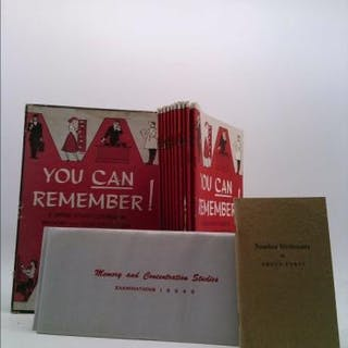 You Can Remember! A Home Study Course in Memory and...