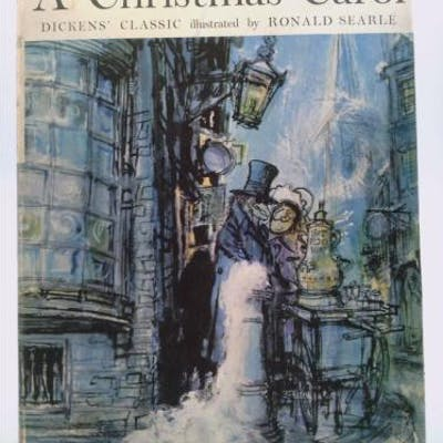 A Christmas Carol Illustrated By Ronald Searle Dickens, Charles