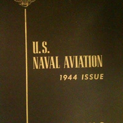 U.S. Naval Aviation 1944 Issue Flying J.W. Williamson