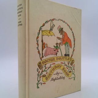 Doctor Dolittle's Birthday Book Lofting, Hugh