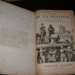 Histoire de la Bastille & Histoire du donjon de Vincennes ARNOULD (A.)