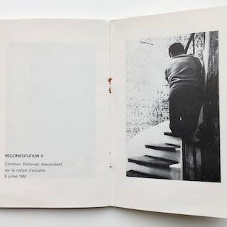Reconstitution de gestes effectués par Christian Boltanski entre 1948 et 1954