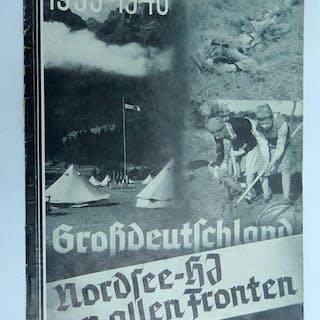 GrossDeutschland Nordsee = HJ ( Hitler-Jugend.) an Allen Fronten