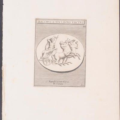 Design Michaelis Angeli Causei Antique Print,Architecture,Art