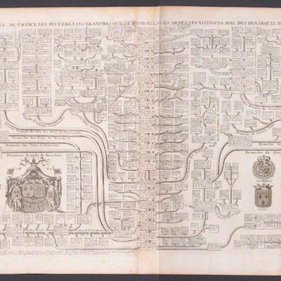 Geneaology of the Royal Family of France Henri Abraham...
