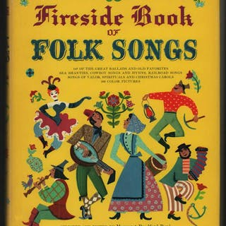 Fireside Book of Folk Songs - New Edition with Guitar Chords. Boni, Margaret.