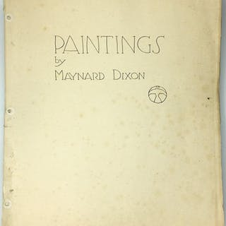 Paintings by Maynard Dixon Dixon, Maynard Art & Architecture