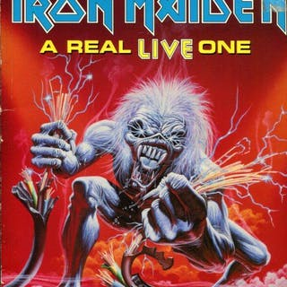 Real Live One Guitar Tabs Maiden, Iron Music:: Rock