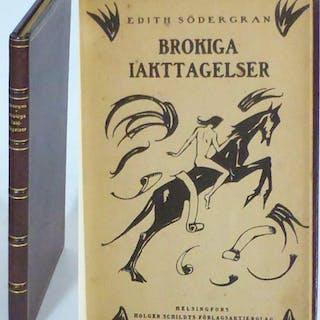 Brokiga iakttagelser. Södergran, Edith Svensk Skönlitteratur