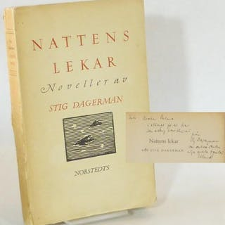 Nattens lekar. Noveller. Dagerman, Stig Svensk Skönlitteratur